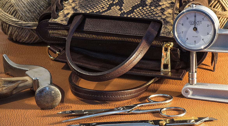 Collezione di borse in pelle - di alta qualità fatte a mano
